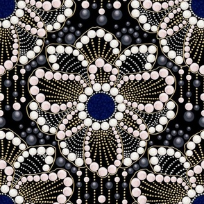 Anemone Art-deco Brooch