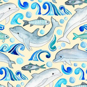 Dolphin Frolic - Large Scale
