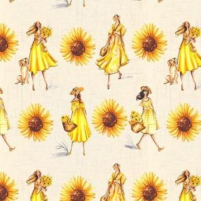 Sunflower Ladies