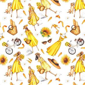 Girls in Yellow shuffle