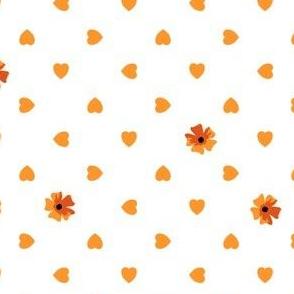 Hearts n Flowers - Butternut