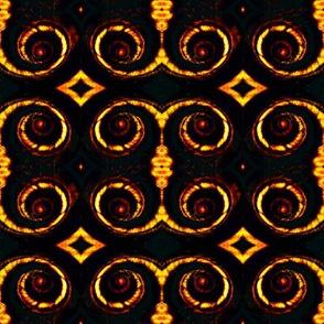 shell pattern a spiral variation