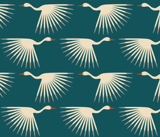 Art Deco Cranes