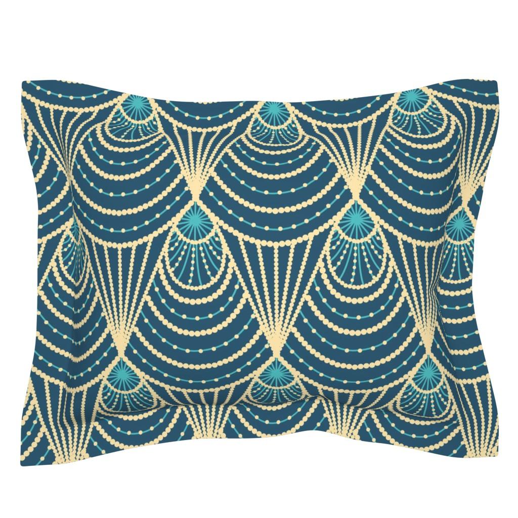 Sebright Pillow Sham featuring Art deco by sveta_aho