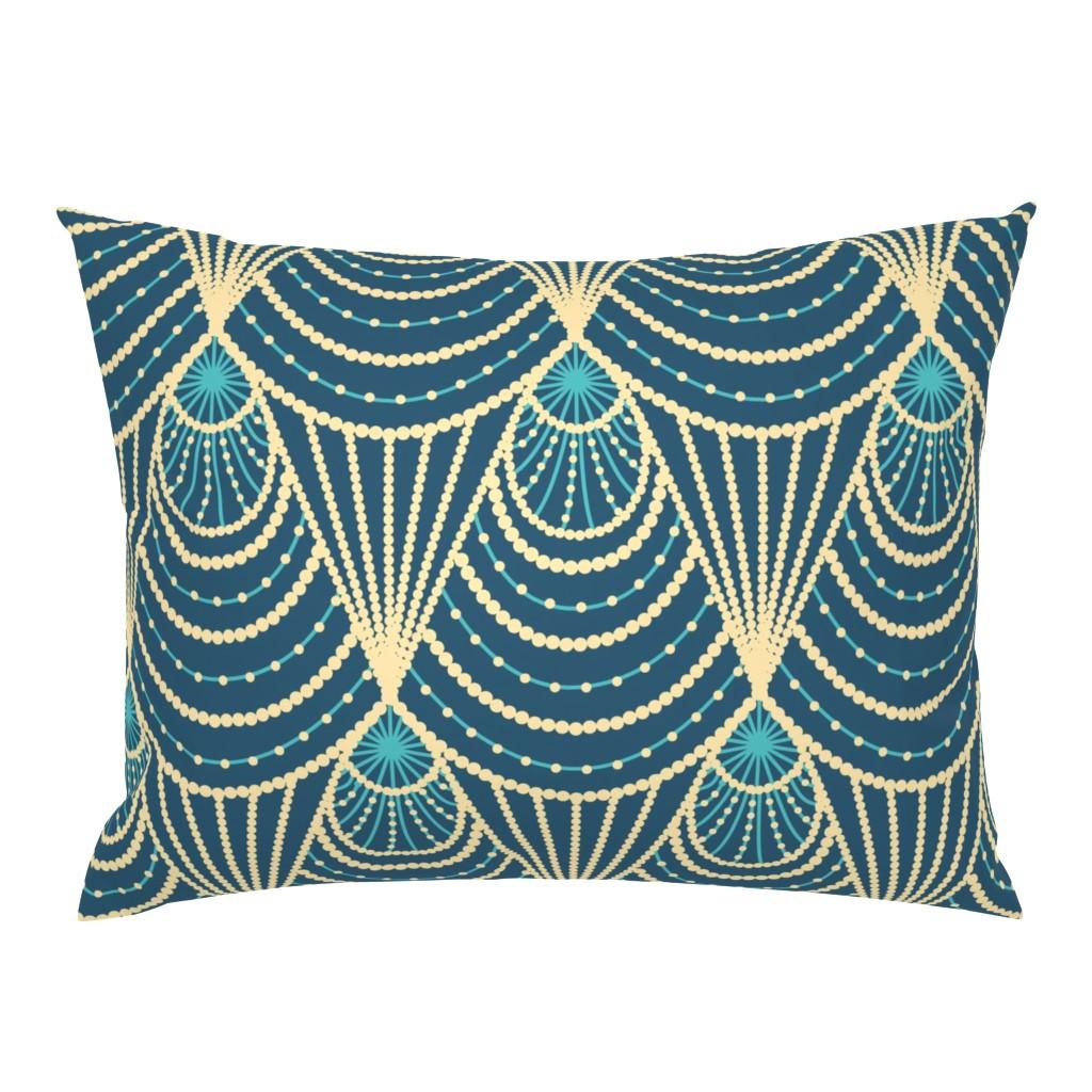 Campine Pillow Sham featuring Art deco by sveta_aho