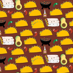 Taco Tuesday Pattern