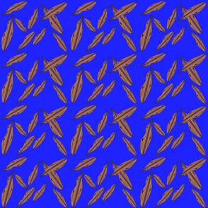 Mountain Dulcimer in Bright Blue