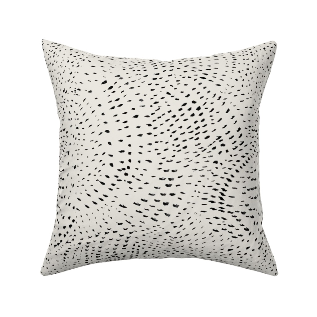 Catalan Throw Pillow featuring Watercolor dots by alison_janssen