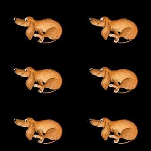 Yoga Dachshund Doxie ,Inga Smg
