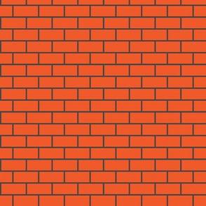 Brick Charcoal & Persimmon
