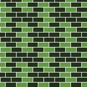 Brick Old Lace & Crusoe Green