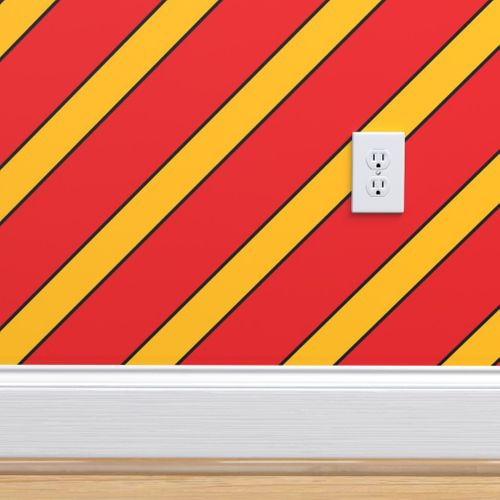 Wallpaper Louisville Cardinals Red Black Yellow Stripes Stripe