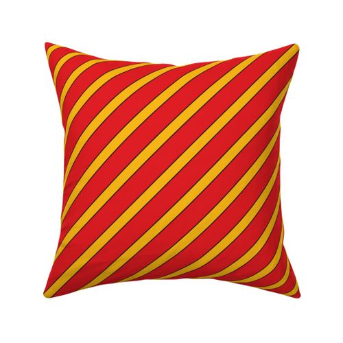 Fabric By The Yard Louisville Cardinals Red Black Yellow Stripes Stripe