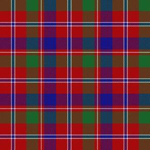 """MacDonald of Glenladale tartan, 3"""" bright"""