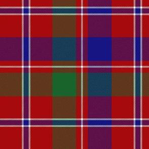 """MacDonald of Glenladale tartan, 6"""" bright"""