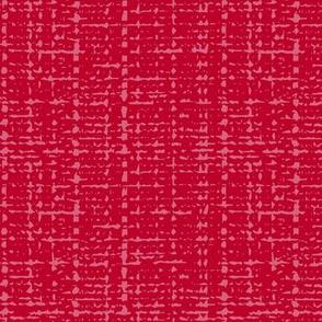 pink peppercorn fifties solid barkcloth texture