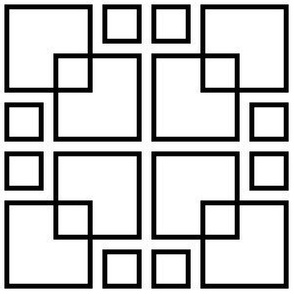 07877768 : square on square grid