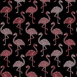 Shades of Flamingo Small on Black