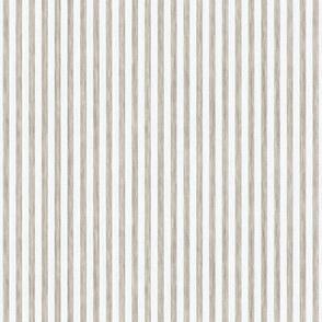 French Stripes - Antique White