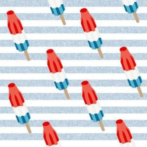 bomb pop - popsicle, ice cream, summer, popsicle, icee, ice, food, - blue stripes