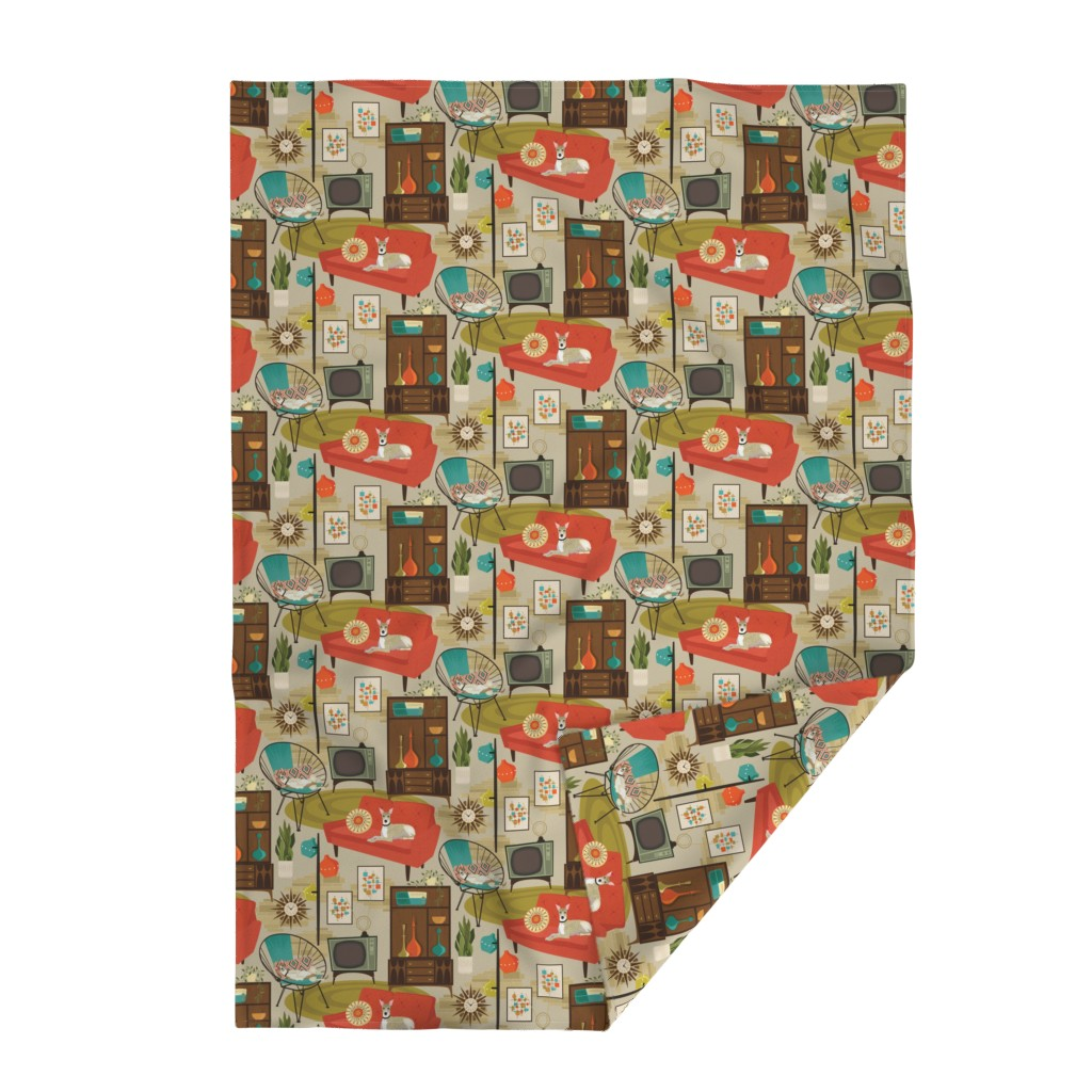 Lakenvelder Throw Blanket featuring rec room madness by michaelzindell