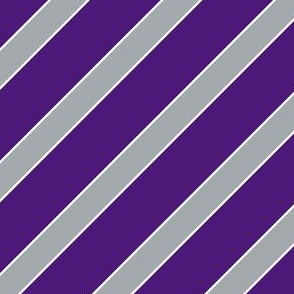 Texas Purple and Grey Stripes
