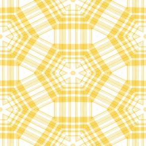 Abigail Anne: Yellow and White Plaid Starburst