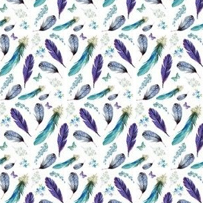"""2"""" Lilac Feathers"""