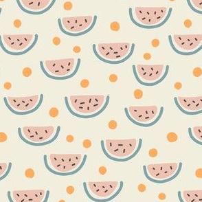 Watermelon Slices - orange