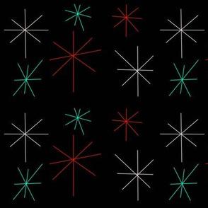 sketchy starbursts