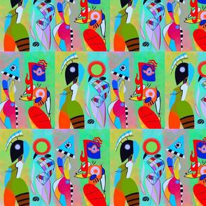 Kandinsky in  lime-ed