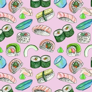Dancing Sushi Pink