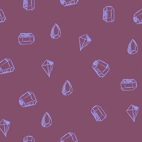 Mystic Co-ordinate - Gems Purple