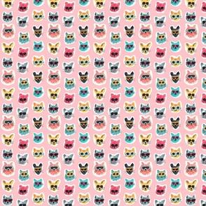 Leaves Black on White