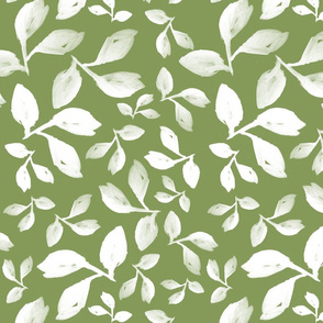 Leaves Olive Green
