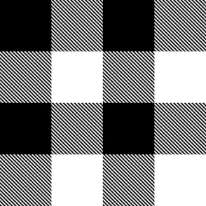 """2"""" Buffalo Plaid with Twill Pattern 