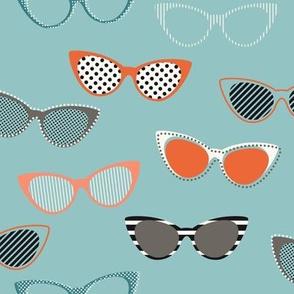 Glasses 1950s