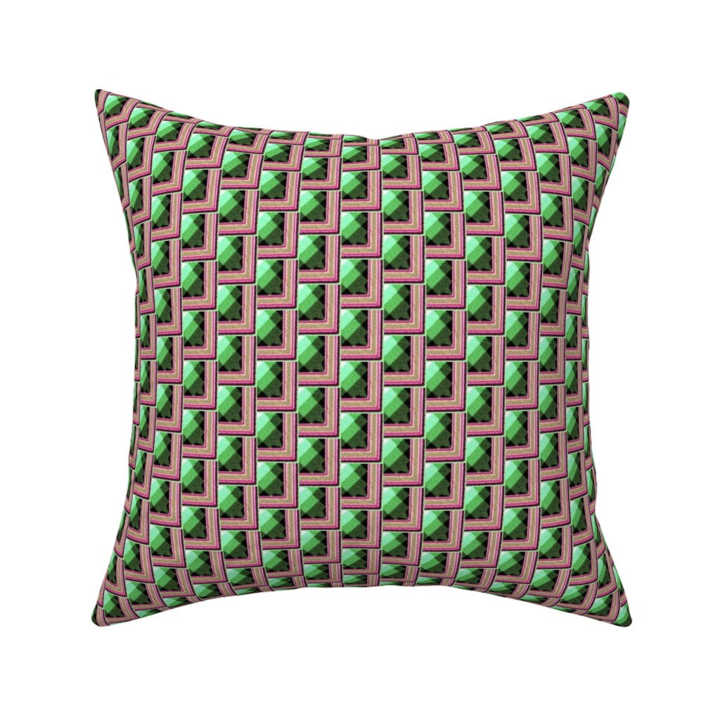 Catalan Throw Pillow featuring arabesque 145 by hypersphere