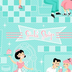 1950_ Soda Shop Milkshake