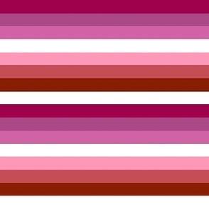 Lesbian Pride Stripes
