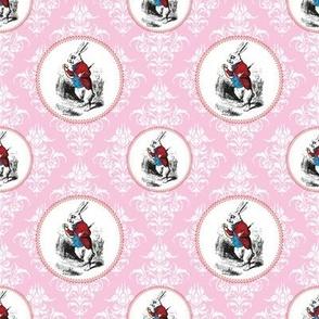 Alice in Wonderland | White Rabbit Checks his Watch