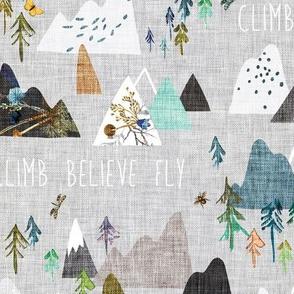 Mountain Climb (silver)
