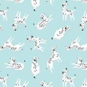 Funny dalmatian (blue)