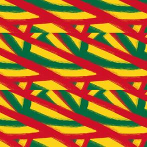 African Rasta Criss Cross