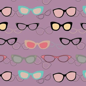 1950's Specs on Radiant Lilac