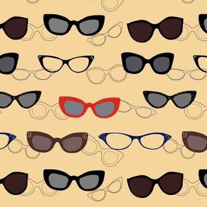 1950's Specs on Sunbeam Yellow