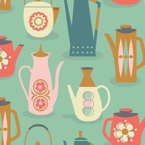 60s teapots