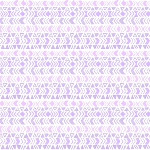 Tribal inspired chevron pattern - purple