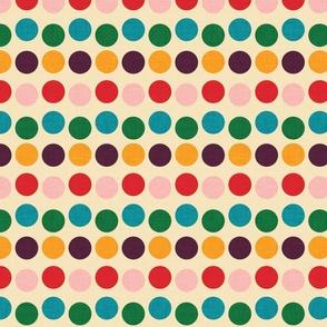 1950 Polka dots
