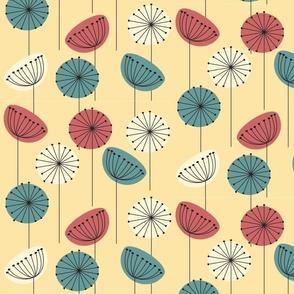 1950s Flowers